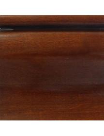 MOBILI 2G - Armadio 2  porte scorrevoli in legno tinta noce arte povera L.275 x P.66 H.254