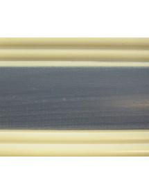 MOBILI 2G - COMO 5 CASSETTI IN LEGNO BLU E MIELE L.102 P.48 H.90