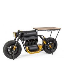MOBILI 2G - CONSOLLE MOTO BAR DESIGN VINTAGE INDUSTRIALE