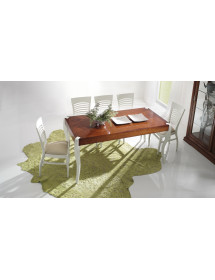 SET 4 sedie in ecopelle colore cuoio a rombi misure L.46 H.84 P.56 HS.46