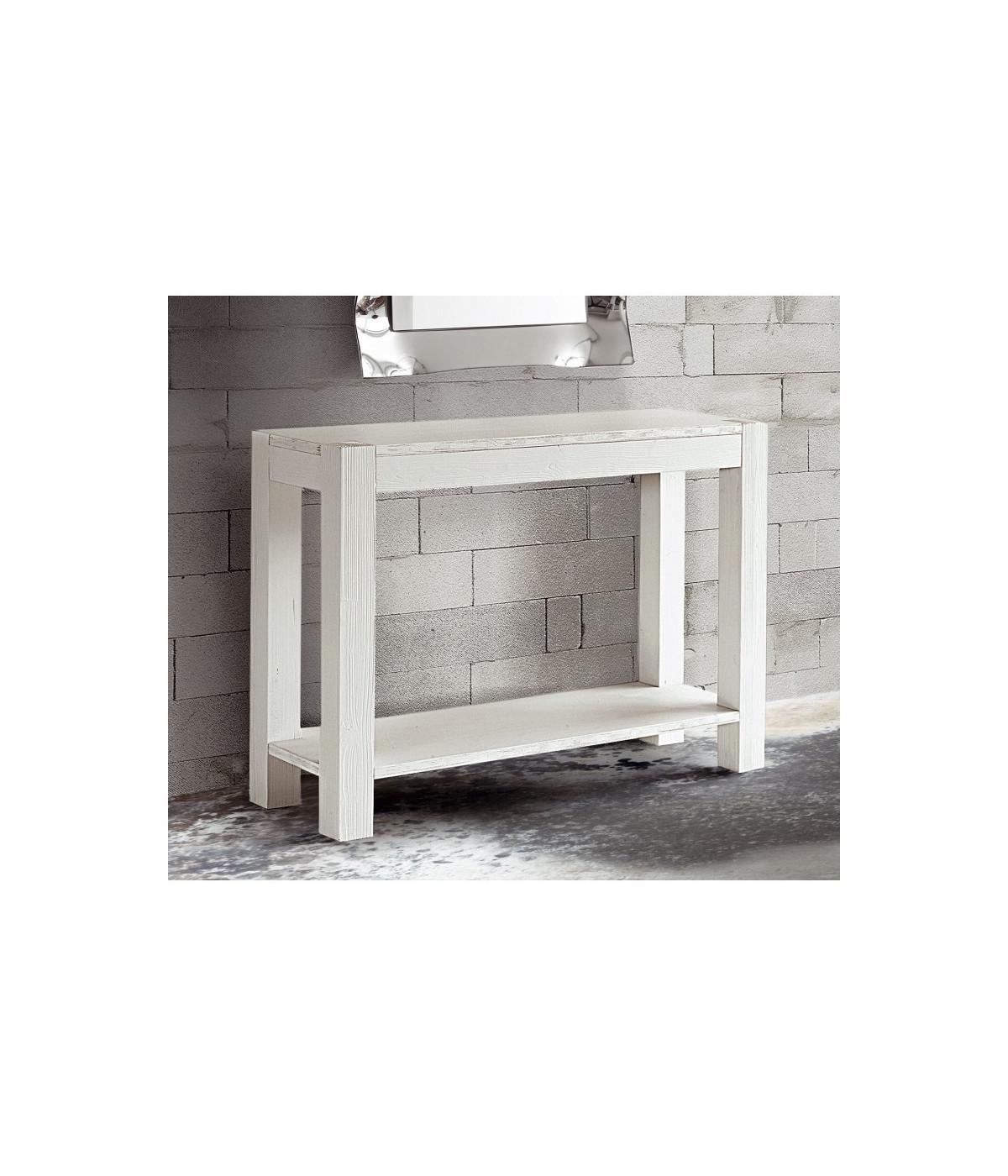 MOBILI 2G - Tavolo consolle in legno di abete