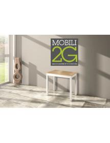 MOBILI2G -  - Specchiera girevole ovale laccata avorio con particolari foglia oro  Misure: L. 62 x H. 169 x P.37