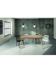 MOBILI2G -  - Specchiera girevole ovale in legno tinta noce 1 cassetto : Misure: L.57 x H.165 x P. 35